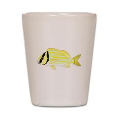 Porkfish Shot Glass