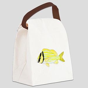 Porkfish Canvas Lunch Bag