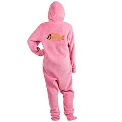 Porkfish Footed Pajamas