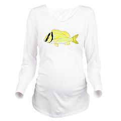 Porkfish Long Sleeve Maternity T-Shirt