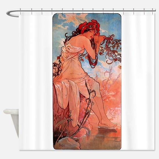 SUMMER_1896.JPG Shower Curtain