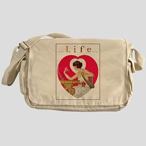 LIFE MAGAZINE, FEB. 16, 1922 Messenger Bag