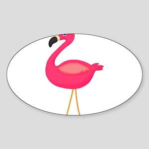 Pink Flamingo 3 Sticker