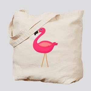 Pink Flamingo 3 Tote Bag
