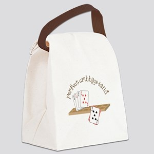 Perfect Cribbage Hand Canvas Lunch Bag