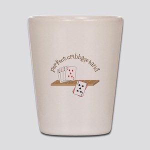 Perfect Cribbage Hand Shot Glass