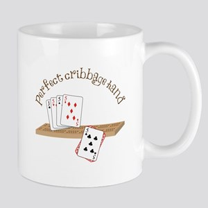 Perfect Cribbage Hand Mugs