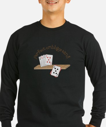 Perfect Cribbage Hand Long Sleeve T-Shirt