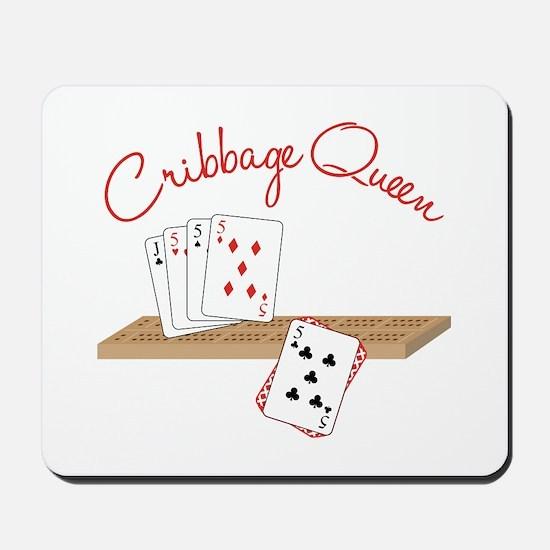 Cribbage Queen Mousepad