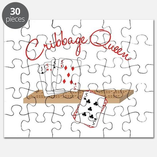 Cribbage Queen Puzzle