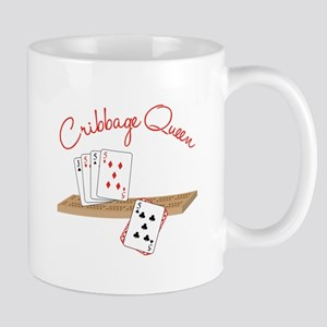 Cribbage Queen Mugs