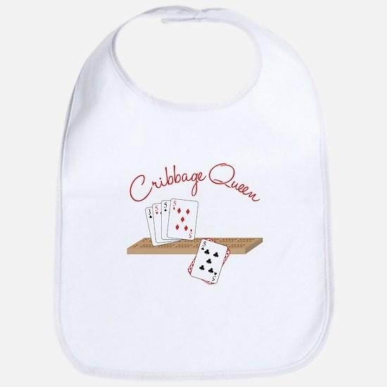 Cribbage Queen Bib