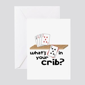 Whats in Your Crib? Greeting Cards