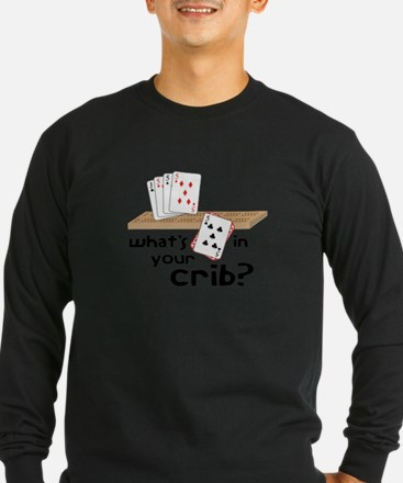 Whats in Your Crib? Long Sleeve T-Shirt