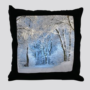 Another Winter Wonderland Throw Pillow