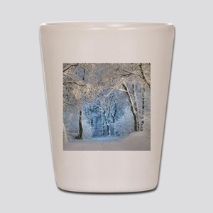 Another Winter Wonderland Shot Glass