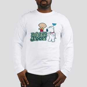 Family Guy Pick Up My Poop Long Sleeve T-Shirt