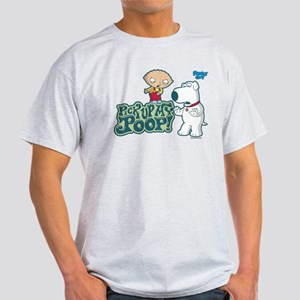 Family Guy Pick Up My Poop Light T-Shirt