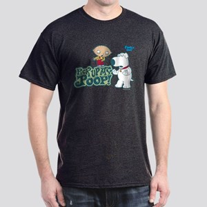 Family Guy Pick Up My Poop Dark T-Shirt