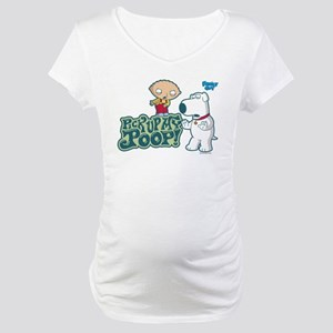 Family Guy Pick Up My Poop Maternity T-Shirt