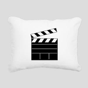 Lights Camera Action Rectangular Canvas Pillow