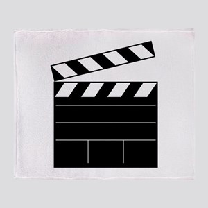 Lights Camera Action Throw Blanket
