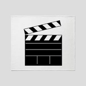 Lights Camera Action Throw Blanket