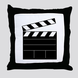 Lights Camera Action Throw Pillow