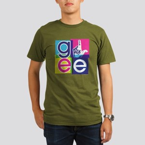 Glee El Organic Men's T-Shirt (dark)