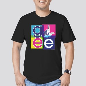 Glee El Men's Fitted T-Shirt (dark)
