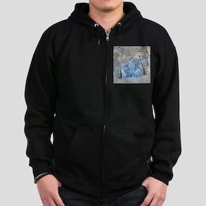 Another Winter Wonderland Zip Hoodie (dark)