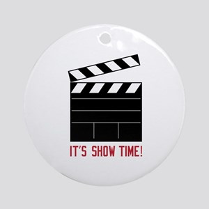 Show Time Ornament (Round)