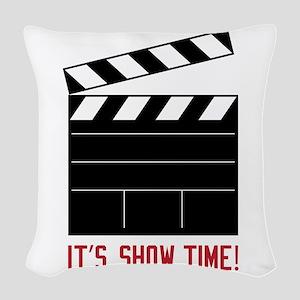 Show Time Woven Throw Pillow