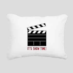 Show Time Rectangular Canvas Pillow