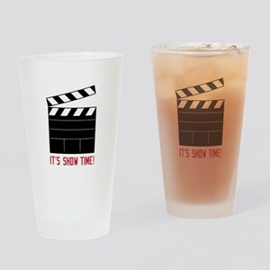 Show Time Drinking Glass