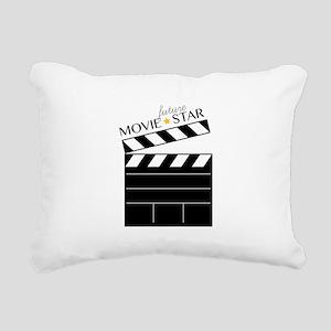 Future Movie Star Rectangular Canvas Pillow