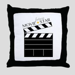 Future Movie Star Throw Pillow