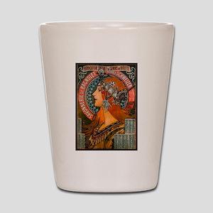 SAVONNERIE DE BAGNOLET, 1897 Shot Glass