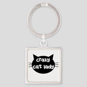 Crazy Cat Lady Keychains