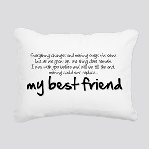 My best friend Rectangular Canvas Pillow