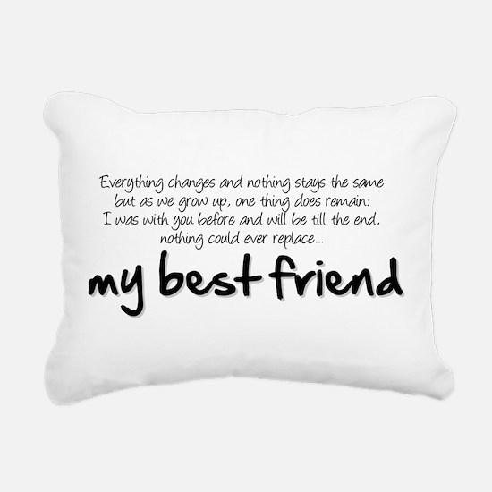 My best friend Rectangular Canvas Pillow