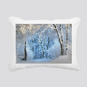 Another Winter Wonderlan Rectangular Canvas Pillow