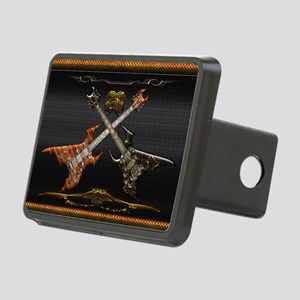 Fantastic Guitars by Blues Rectangular Hitch Cover