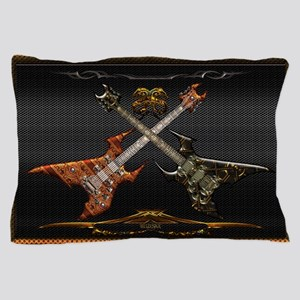Fantastic Guitars by Bluesax Pillow Case