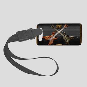 Fantastic Guitars by Bluesax Small Luggage Tag