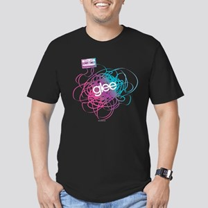 Glee Mix Men's Fitted T-Shirt (dark)