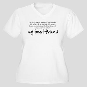 My best friend Plus Size T-Shirt