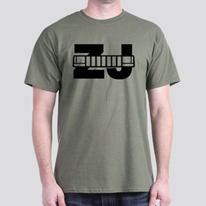 Jeep ZJ grill T-Shirt