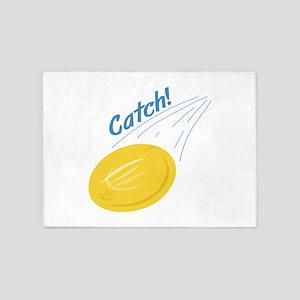 Catch Frisbee 5'x7'Area Rug