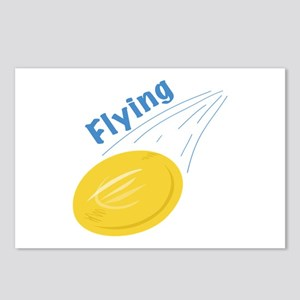 Flying Frisbee Postcards (Package of 8)